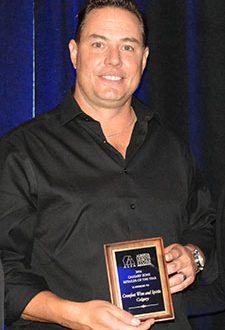 Greater Calgary Zone Retailer of the Year winner - Bob Richardson from Crowfoot Wine & Spirits