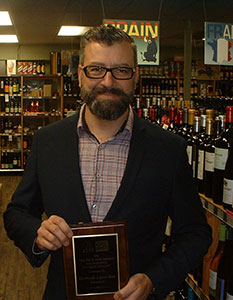 The Irv Kipnes Award for Excellence in Retailing - David Owens from Sherbrooke Liquor Store